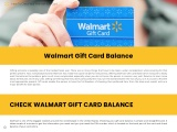 How to check Walmart gift card transaction history?