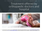 Treatment offered by orthopedic doctors and hospital