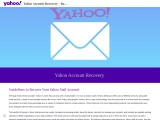 Yahoo account recovery – Yahoo email recovery