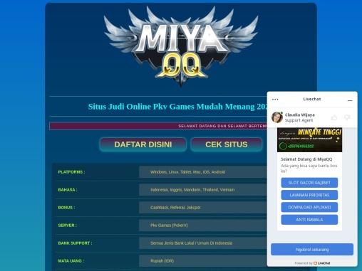 MiyaQQ – Situs Judi Aman Dan Terpercaya Di Indonesia