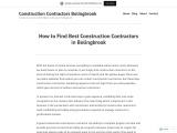 Best Construction Contractors Bolingbrook