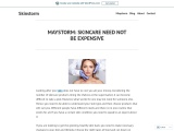 MAYSTORM: SKINCARE NEED NOT BE EXPENSIVE