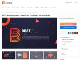 PPT Template – Free PowerPoint Template for Presentations