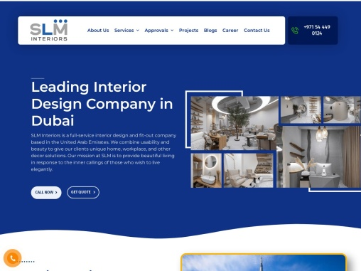 interior design and fit out companies in dubai