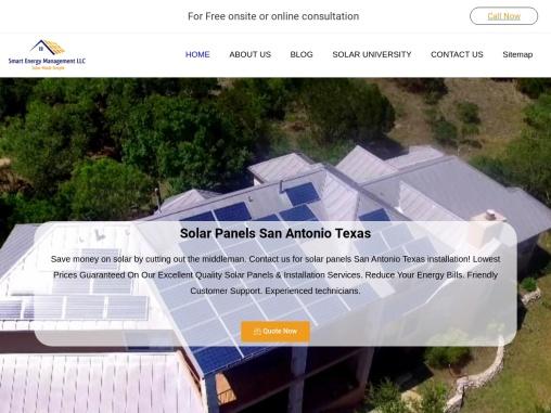 Solar Panel installation San Antonio
