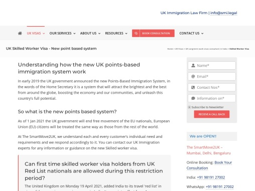 Get to know All about the UK Skilled Worker Visa