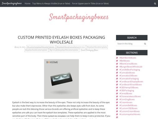 Custom Printed Eyelash Boxes Packaging Wholesale