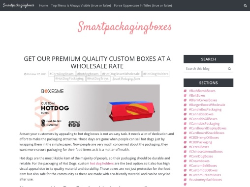 Get our premium Quality custom Boxes at a wholesale rate: