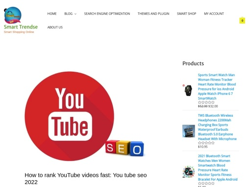 How to rank YouTube videos fast: You tube seo 2021
