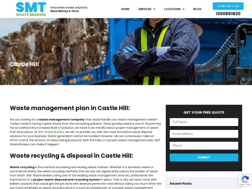 Waste Management in Castle Hill