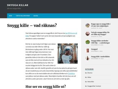 snyggakillar.se