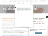 Data science course training institutes in Marthahalli