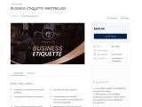 Business Etiquette Courses Online | Business Etiquette Training