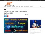 Earn Money with these 5 best trading platforms 2021