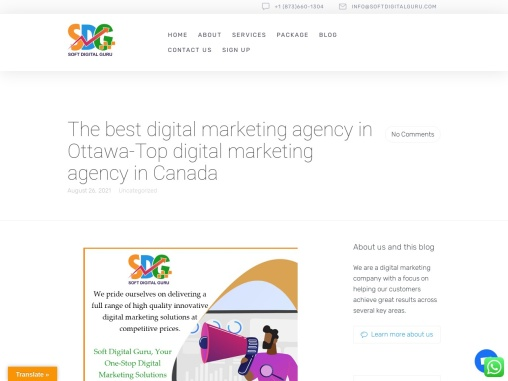 The best digital marketing agency in Ottawa-Top digital marketing agency in Canada