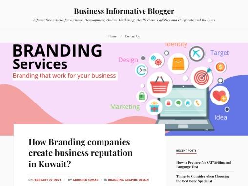 How Branding companies create business reputation in Kuwait