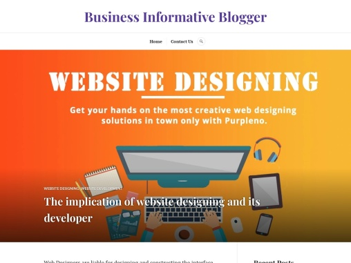 The implication of website designing and its developer