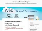 Website designing with ecommerce website development