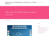 What is the role of Web development companies in Kuwait