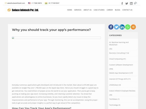 Why you should track your app's performance?