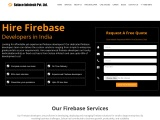Hire experienced Firebase developers in India on flexible basis