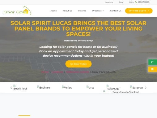 Residential & Commercial Solar Panel Installations in Lucas | Call 1300761675