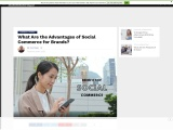 What Are the Advantages of Social Commerce for Brands?