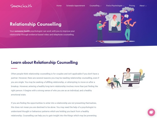 Relationship Counselling – Someone Health