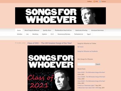 songsforwhoever.com