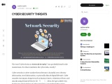 WHAT IS CYBER SECURITY THREATS