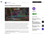 What Is Phases Of Website Development