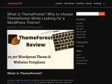 What is ThemeForest? Why to choose ThemeForest While Looking for a WordPress Theme?