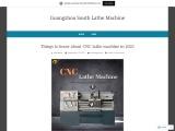 Modern High Speed CNC Lathe Machining