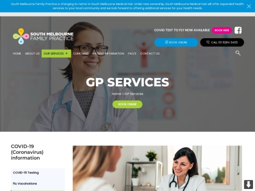 GP Clinic South Melbourne. Family Doctor South Melbourne