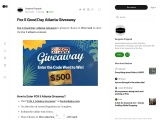 fox 5 atlanta contest, fox 5 atlanta contest