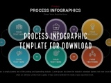 Process Infographic template for download