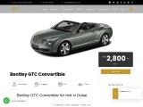 Rent Bentley Services in Dubai