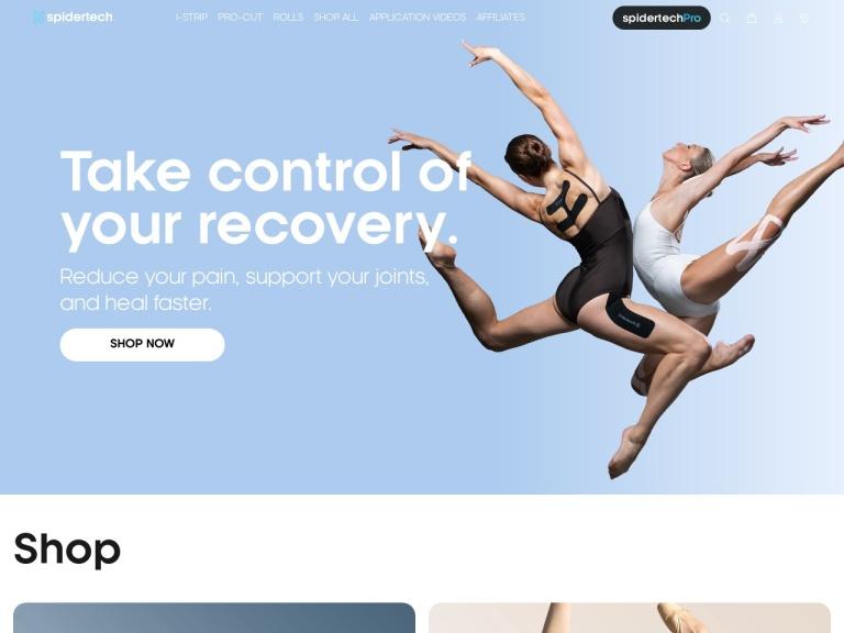 SpiderTech screenshot