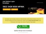 Jual Spikoe Lapis Surabaya – ☎ 082234280030 HPWA