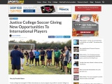 New Opportunities for International Players given by Justice College Soccer