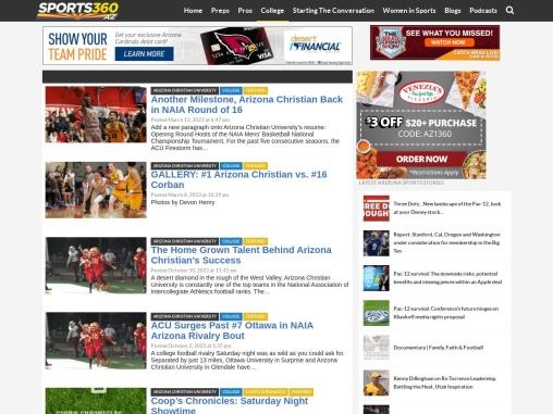 Sports360AZ – Arizona Christian University Sport News