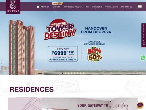 Luxury apartments in Chennai | Apartments for sale in perambur – SPR Highliving Chennai