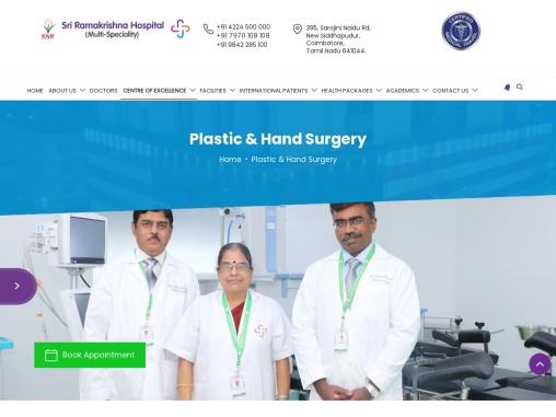 Best Burn injury | Hand reconstructive  treatment in Coimbatore