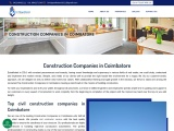 Construction companies in coimbatore, Top civil construction companies in coimbatore