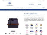 Luxury Apparel Boxes | Get Custom Luxury Apparel Gift Boxes