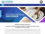 Manufacturer & Exporter of Cold Pasting Gum Powder, Corrugation   Gum Powder in India
