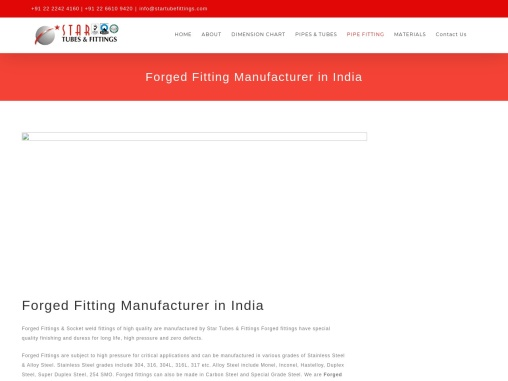 Forged Elbow Fitting Manufacturer