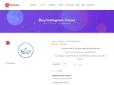Buy Instagram video views and likes