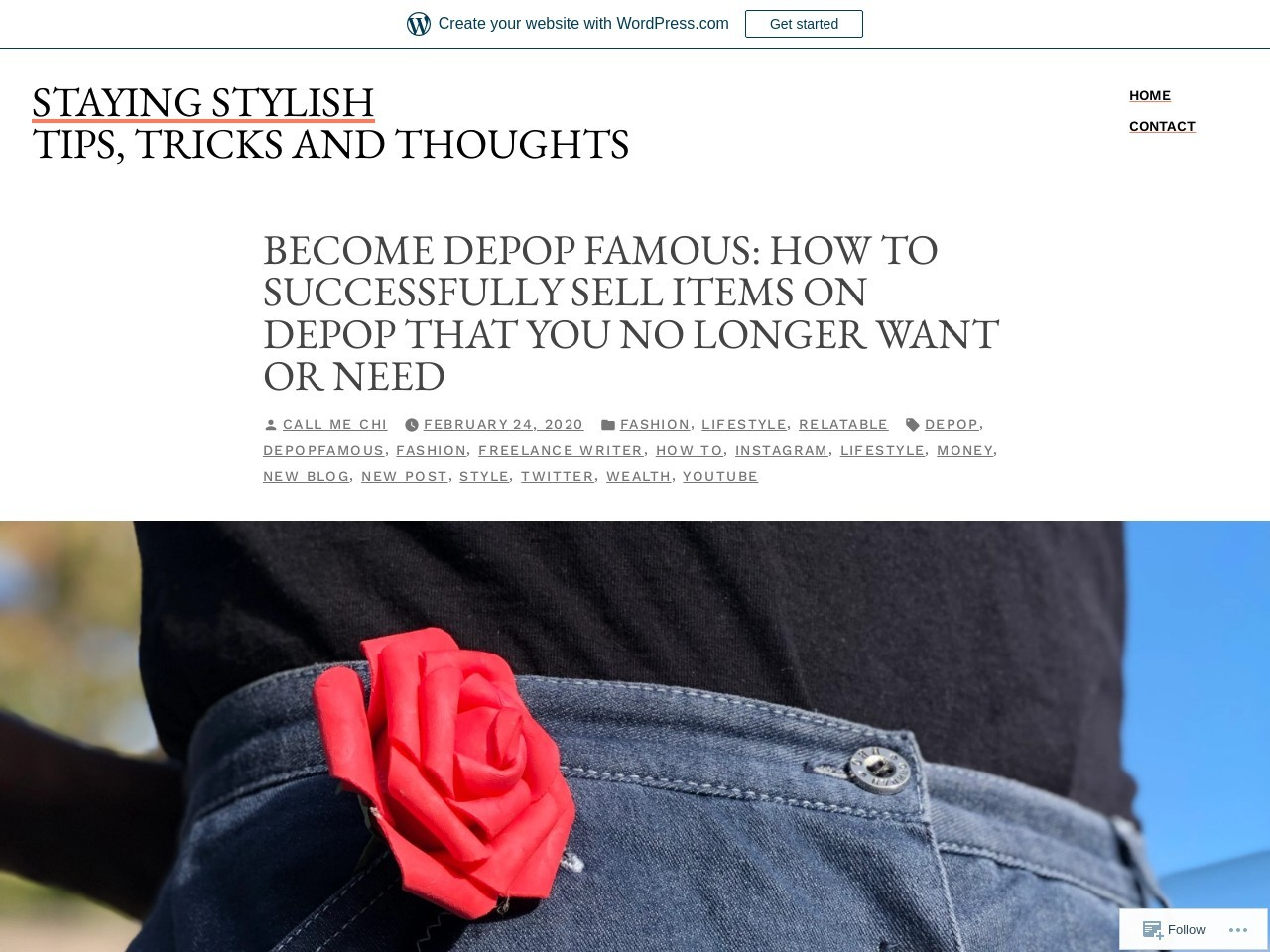Become Depop Famous: How To Successfully Sell Items on Depop That You No Longer Want Or Need