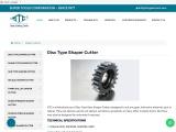 Disc Type Shaper Cutters | Gear Shaper Cutter Manufacturers